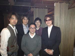 KENさんと宍戸さんと佐藤さん