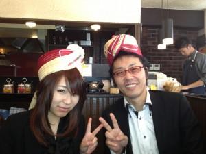 小枝さんとリュウさん